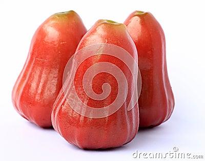 Three rose apple