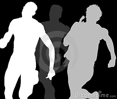 Three Runners Shadows