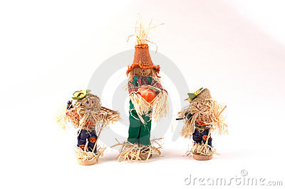 Three Scarecrows