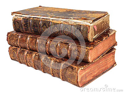 Three seventeenth century antique books