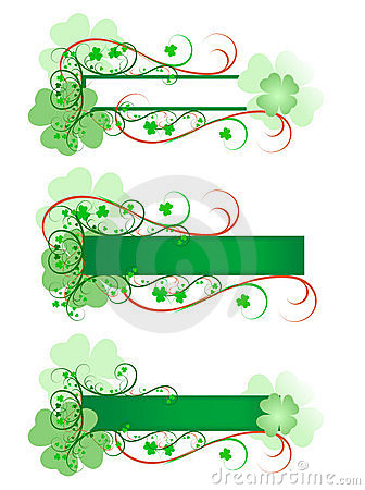 Free Three Shamrock Signs Stock Images - 4490644
