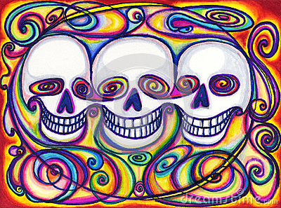 Three Skull Friends