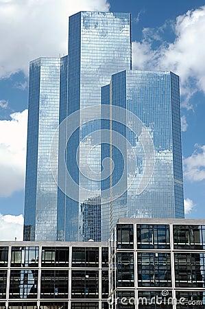 Three skyscrapers in Paris