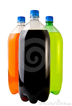 Three Soda Bottles