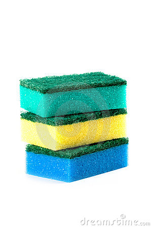 Three sponges