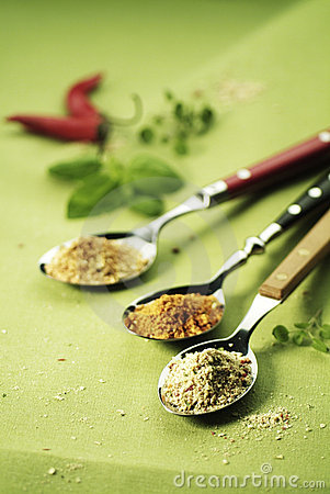 Three Spoonfuls of Spices
