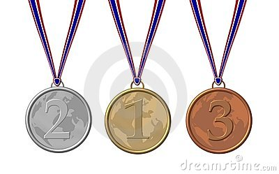Three sport medals
