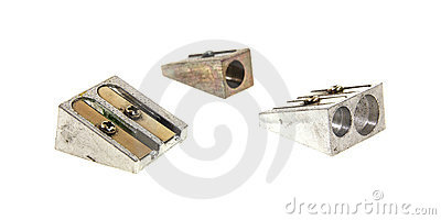 Three Sturdy Old Pencil Sharpeners