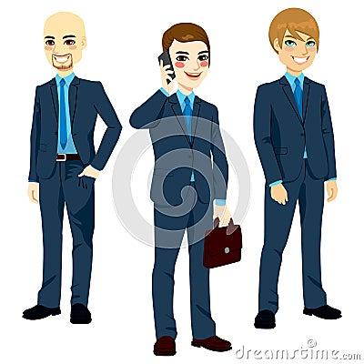 Three Successful Businessmen