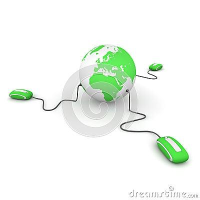 Three Surf the World - Green
