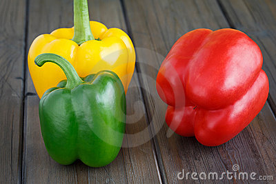 Three Sweet Pepper