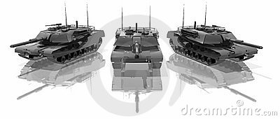 Three tanks