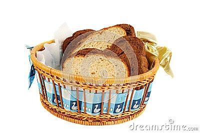 Three tipe of bread set.