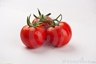 Three tomatos