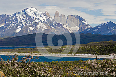 The Three Towers of Paine, Patagonia, Chile