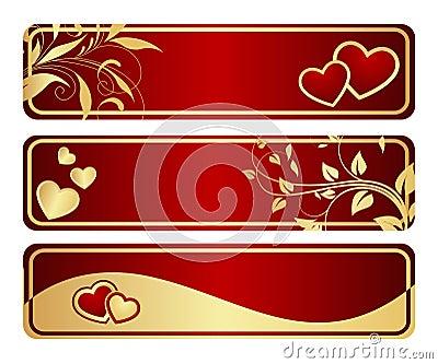 Three valentine s tablets