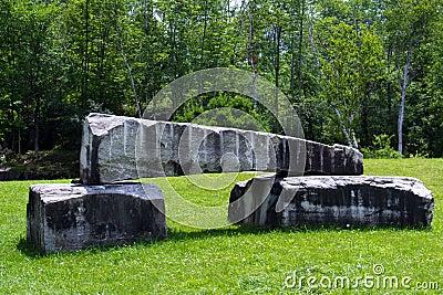 Three Vermont Marble Slabs