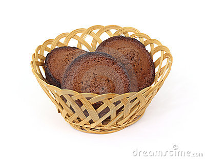 Three Well Done Chocolate Muffins