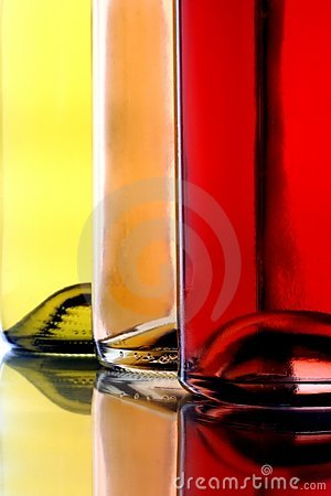 Free Three Wine Bottles Stock Image - 6672601