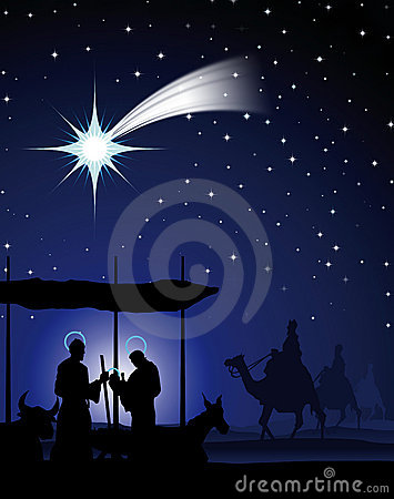 The Three Wise Men Royalty Free Stock Images - Image: 3896599