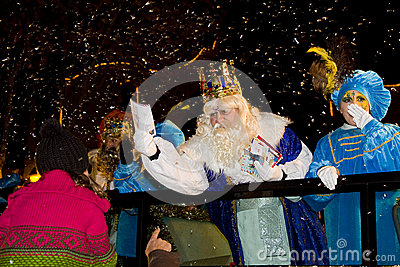 Three Wise Men parade Editorial Image