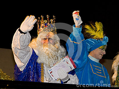 Three Wise Men parade Editorial Photo