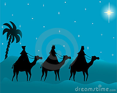 three wisemen card
