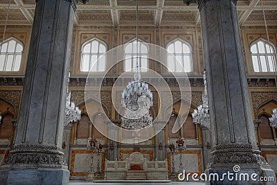 Throne at Grand Chowmahalla Palace