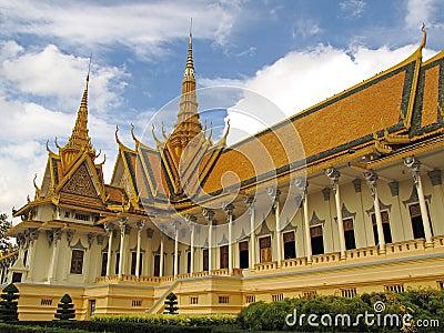 Throne Hall - Royal Palace - Phnom Penh