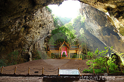 Throne in Prayanakorn Cave, Thailand