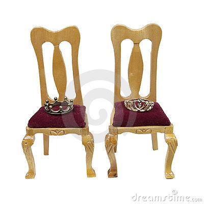 Thrones of the King and Queen