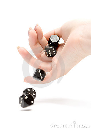 Free Throwing Dices Stock Image - 2072551