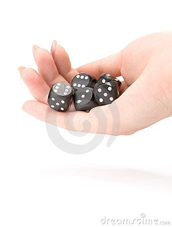 Free Throwing Dices Stock Photo - 2136280