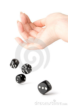 Free Throwing Dices Royalty Free Stock Photo - 2255065