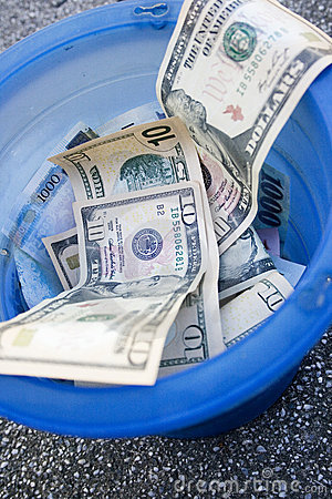 Throwing money away