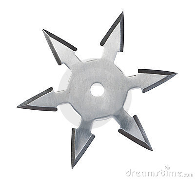 Ninja Throwing Shuriken Throwing Star Ninja Sh...
