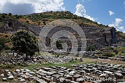 Théâtre grec d Ephesus