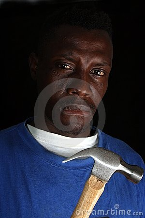 Thug Man with Hammer