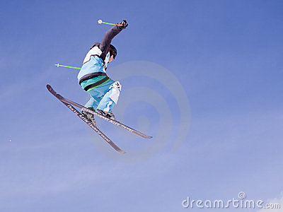 Thule Telemark Big Air Editorial Stock Photo