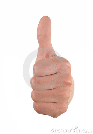 Free Thumb Up Stock Photography - 10404892