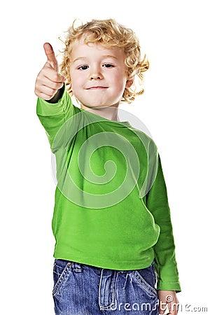 Thumb up!