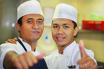 Thumb up chef