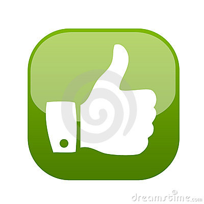 Free Thumb Up Gesture Icon Vector Stock Photos - 9227623