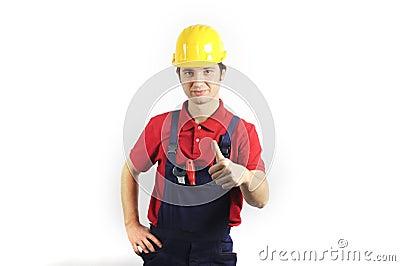 Thumb-up mechanic