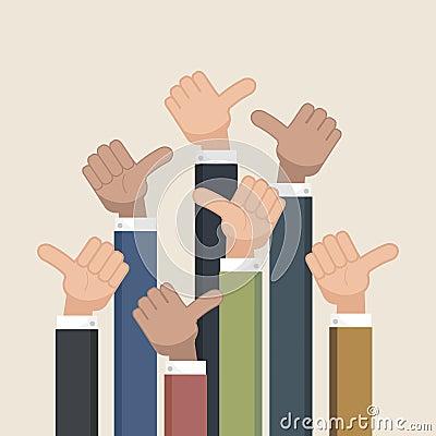 Free Thumb Up Symbol. Like Symbol. Stock Photos - 69682983