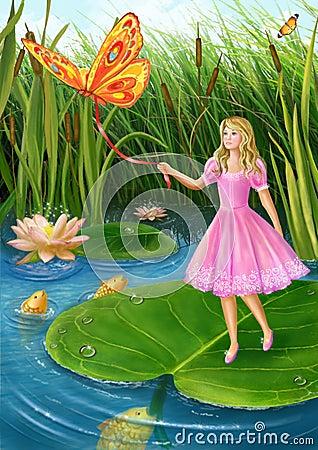 Thumbelina Stock Images Image 28591044