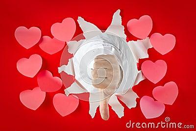 Thumbs down to romance