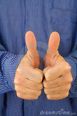 Free Thumbs Up! Stock Photography - 1768242
