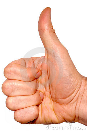 Thumbs Up. Royalty Free Stock Images - Image: 2341699