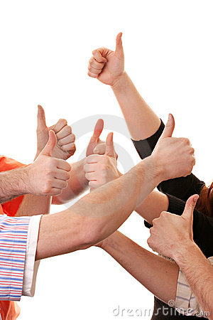 Free Thumbs Up Royalty Free Stock Photography - 2438897
